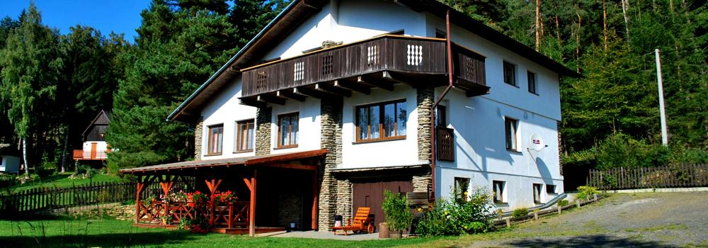 Chata Zach Šumava - ubytování v soukromí